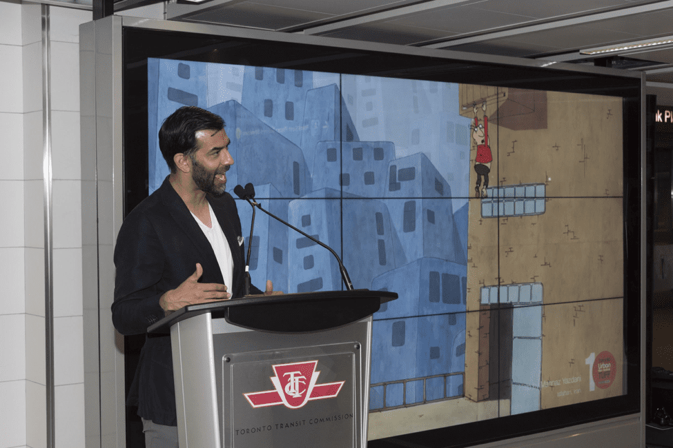 Toronto Film Commissioner & Director of Entertainment Zaib Shaikh