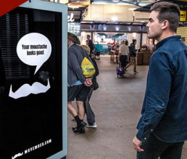 The Movember Foundation and Quividi Run the First Facial-Hair Reactive DOOH Campaign