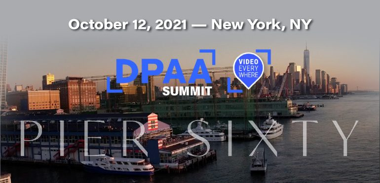 DPAA Announces In-Person and Live, The Video Everywhere Summit, October 12 at Chelsea Piers