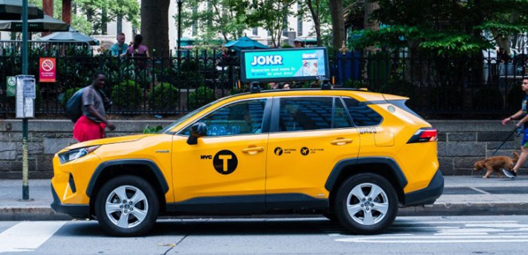 JOKR Launches in NYC with a Supermarket Sized OOH Campaign