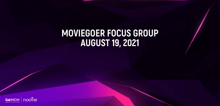 Moviegoers Heading Back to Cinemas! —NCM
