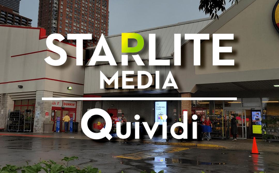 Starlite Media Equips DOOH Network With Quividi's Audience Measurement Platforms